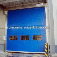 electric industrial rolling door exterior