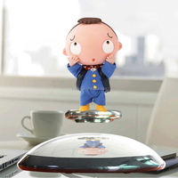 Hot sale semicircle base magnetic levitation display special beautiful love gift for girl