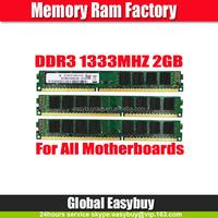 China market of electronic ram memory ddr3 pc10600 1333 2gb