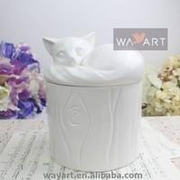 Ceramic Fox Shape of Large Ceramic Storage Jar