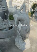 2012 Nude woman stone sculpture