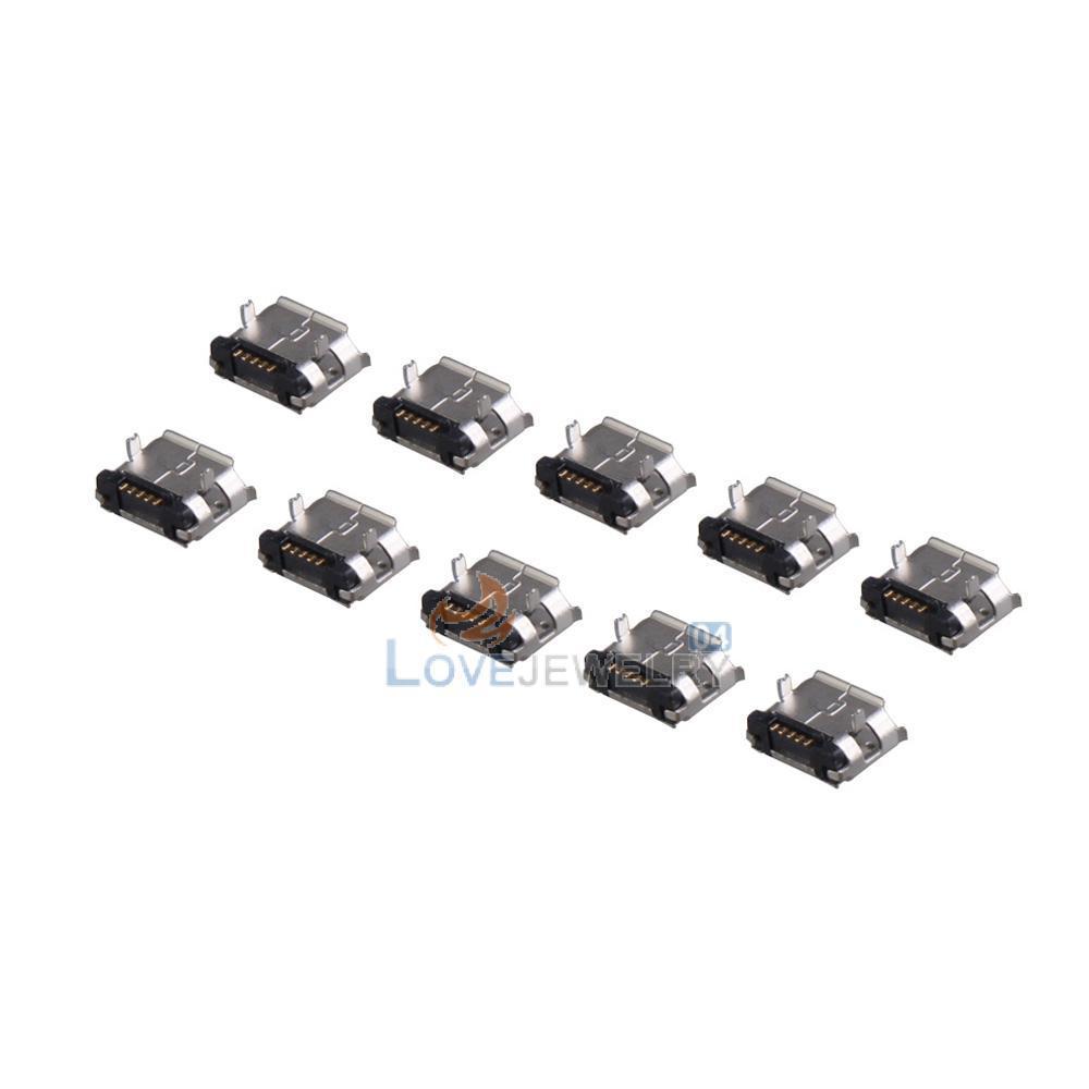 Aliexpress.com: Купить Ly4 #10 шт микро USB 5 контакт. B тип ...