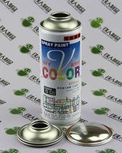 Empty Aerosol spray tin can iron printing metal bottle factory