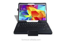 """Leather Folding Bluetooth Keyboard Case For Samsung Galaxy Tab S 10"""""""