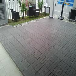 car showroom floor WPC tiles outdoor floor tiles dock decking