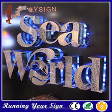 Waterproof back Illuminated backlit decorative street signs