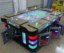 Venta caliente con estilo cajas de pesca bingo máquina de juego con el certificado del CE