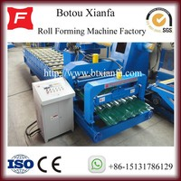 High Quality Competitive Price Steel Roof Glazing Tile Cold Forming Machine