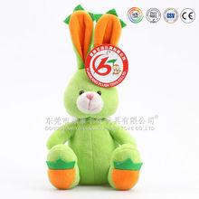 Hot sale plush animal rabbit plush stuffed toys manufacturer (ICTI audited)