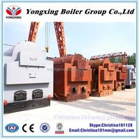 Hand burn horizontal DZH series coal fired high pressure sugar plant steam boiler
