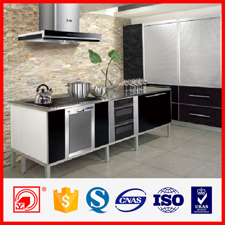 Cheap black and white melamine kitchen cabinet door buy for Cheap black kitchen cabinets
