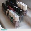 Guangzhou fabricante venta al por mayor de acrílico uñas esmalte de uñas esmalte de almacenamiento caja