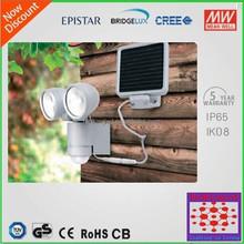hot sell Solar Security Garden Light with PIR Motion Sensor 2w outdoor flood lamps