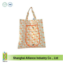Good Quality Factory OEM Sublimation Full Printing Flower Design Non Woven Shopping Bag