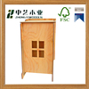 Wholesale cheap OEM unfinished handmade DIY wooden kids house for educational toys