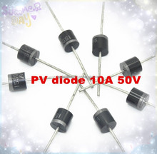 wholesale schottky diode 10A 50V high quality pv diode for Solar Cell Bypass