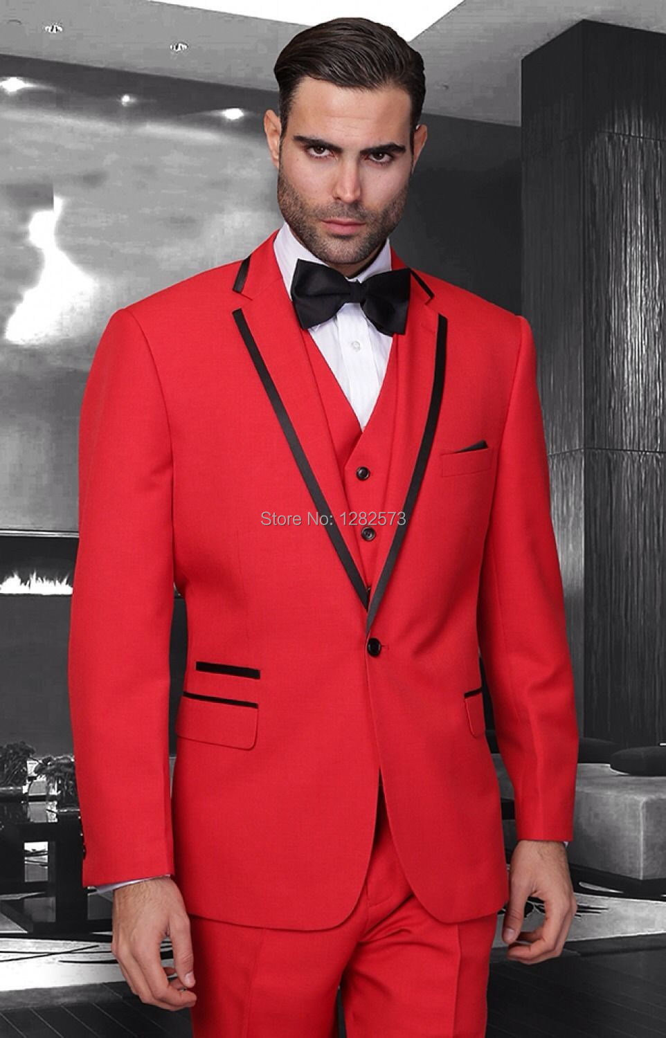 Prom suits red