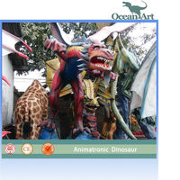 Attraction western dragon for Christmas decorations