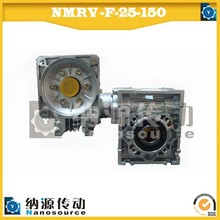 Big Ratio NMRV-NMRV Aluminum Worm Gear box Compatible Variator With Flexible Installed Location