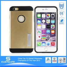 2014 new thin dual color design your own cell phone case for iphone 6 plus