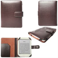 PU Leather Case For Kindle 4