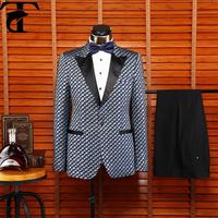 China Suit Factory Latest Design Mens Coat Pant Designs Wedding Suit
