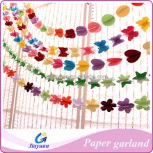 Creative Ideas Paper Crafts 3D Paper Garland for Wedding