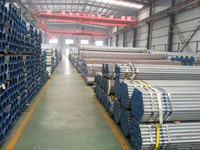 hot deep galvanizing mild steel hollow section produced by TIanjinxiushui