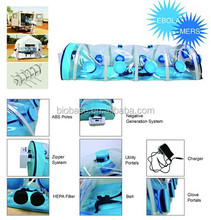 BIOBASE New Design Negative Pressure Biological Isolation Chamber for protecting people
