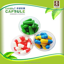 Ocean Blue and white pills Herbal Medicine Empty Capsule Shell