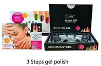 2015 fashion manicure kit uv led nail kit 7 piece