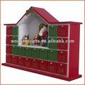navidad de madera calendario de adviento