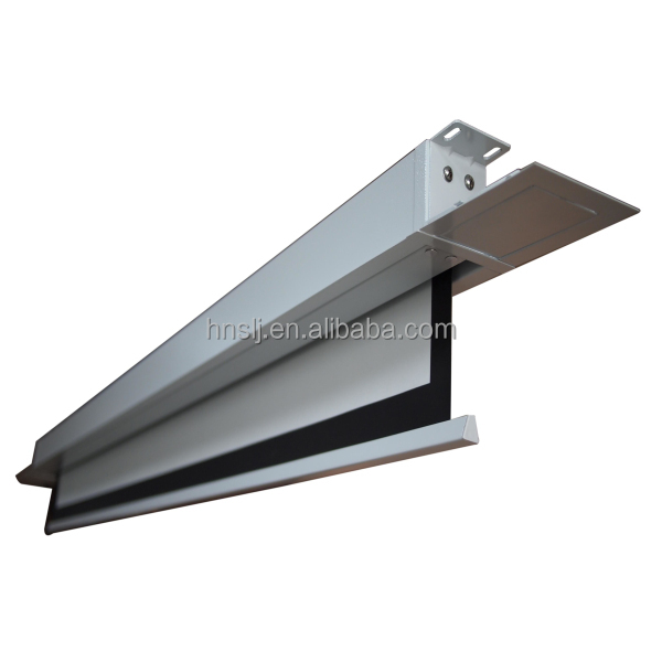 Electric Projection Screen White In Ceiling Projector