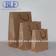 (BLF-PB067)Cheap recycle brown paper bags