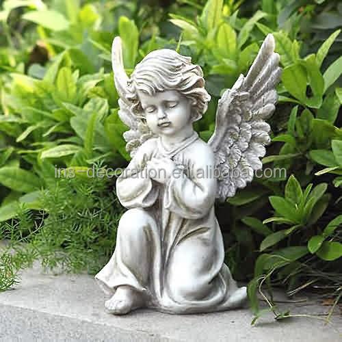 Jardin de pierre statue d 39 ange pour b b statues id du produit 60214638305 - Statue d ange pour exterieur ...
