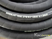 """2015 New Arrival High Quality 2"""" Diameter Sandblasting Rubber Hoses Export to Russia 12 bar"""