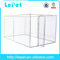 low price low MOQS galvanized tube dog enclosure xxl dog house