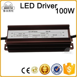 Factory wholesale 3000mA 100w led driver 36v IP65 10 in Series 10 in Parallel