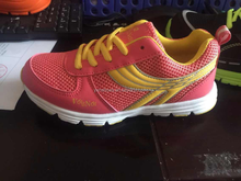 adult leather sport shoe running for women ladies, fashion sport running shoes for female good quality from jinjiang