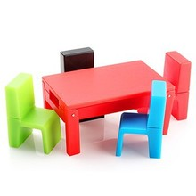 Table and stool shaped usb flash drive various color pen drive memory stick fashion usb card for gift
