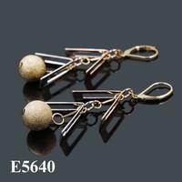 2015 Joy Fan jewelry Fashion colorful dangle New earrings for women