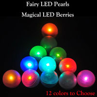 Multicolors Slow Fading RGB LED Fairy Light , Magical LED Berries