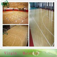 PVC Vinyl Basketball Wood Sports Flooring