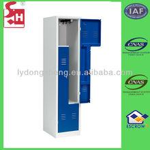 KD Structure Z Shape Steel Cabinet Clothes Locker