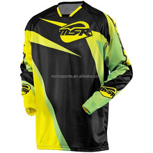 High quality wholesale custom racing motorbike wear / motorcycle wear / motocross jerseys
