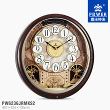 Antique pendulum wooden Clock (ABS and Solid Wood Clock with pendulum and 18 music houly chime)