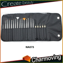 Hot Selling 20 pcs Private label Nail Art Brush For Professionals