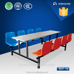 school cafeteria use school chair and desk with low price