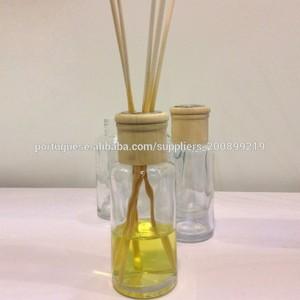 100ml tubo redondo de vidro garrafa aroma perfumado difusor de lingüeta conjuntos