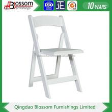 2015 High quality wooden wedding folding chair